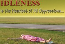 Idleness Dream Meaning