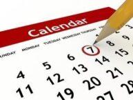 Calendar Dream Meaning